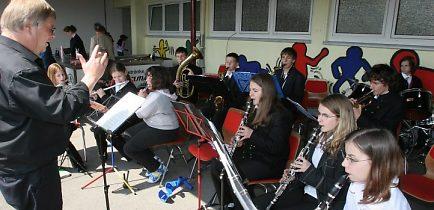 Das Jugendorchester der Siebenbürger Trachtenkapelle