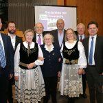 Von links: Rainer Lehni, Horst Kessmann, Enni Janesch, Wilfried Bast, Susanna Kräutner, Jürgen Poschner, Anita Gutt, Horst Göbbel, Ulrich Stücker und Hans Georg Franchy